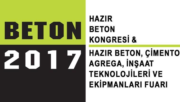 Beton İstanbul 2017 Fuarı için geri sayım!